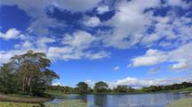 Clouds Over Pond
