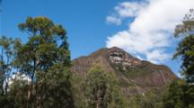 Glass House Mountains Time Lapse, Clouds, Sky, Mt Beerwah
