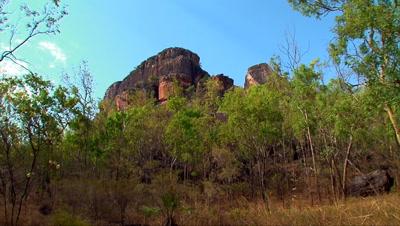 Nourlangie Rock base 3 zoom,Kakadu,Top End