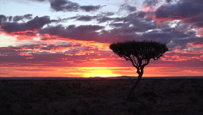 Patgonian sunset,time lapse