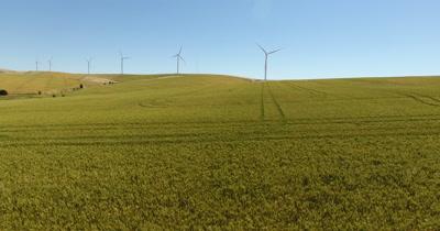 Aerial - Wind Farm Turbines