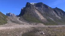 Stream To Mountain Pan, Auyuittuq National Park, Baffin Island