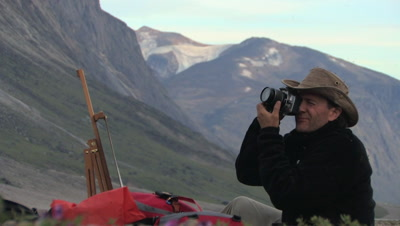 Painting & Photography In Auyuittuq National Park, Baffin Island