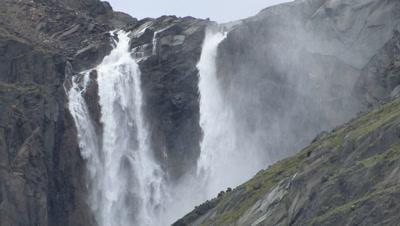 Waterfall In Auyuittuq National Park, Baffin Island