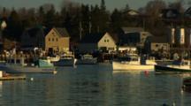 Lobster Boats In Carver's Harbor, Vinalhaven, Maine
