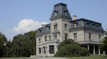 Newport Rhode Island Famous Chateau-Sur-Mer On The Mansions Drive