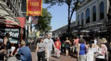 Downtown Boston MA Old Town Quincy Market Freedom Trail