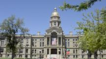 Capitol Building Of Cheyenne Wyoming Government Dome State Capitol