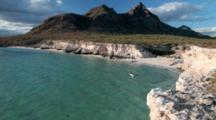 Sea Kayaking In The Gulf Of California Off Isla Carmen Near Loreto Mexico Model Released