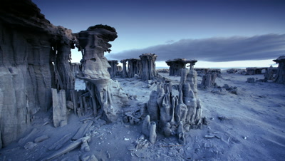 Tufa Formations on the shore of Mono Lake,California