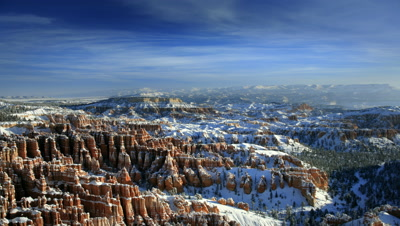 Bryce Canyon National Park after winter storm