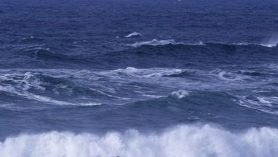 Waves crashing on rocks,Bandon,Oregon