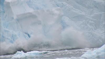 Antarctica Glacier Calves