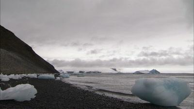 Antarctica Time Lapse Stock Footage