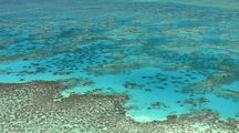 Aerial Over Reef