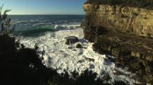 Coastal Views with Cliffs and Waves, Tasmania
