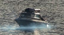 A Boat With Mechanical /Engine Problems.  Oil & Smoke