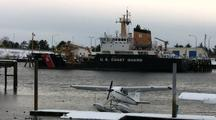 Commercial Fishing Boat, Float Plane  & Coast Guard Buoy Tender
