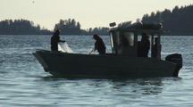 Alaska Natives Fish For Herring Using A Throw Net/The Sitka Sound Sac Roe Herring Fishery