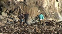 International Film Crew Cinematographers Filming