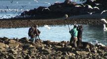 International Film Crew (Cinematographers)Film The Sitka Sound Sac Roe Herring Fishery