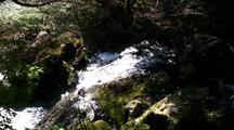 Water Fall-Fast Rushing Stream