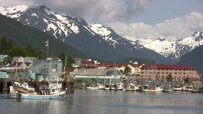 Alaska Fishing Port: Sitka Alaska