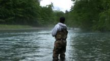 Fishing In Alaska Wilderness