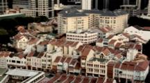 Elevated View Of Chinatown Singapore