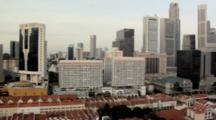Skyline Of Singapore CBD