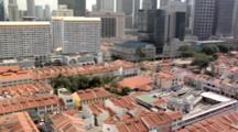 The Sri Mariamman Temple, China Town And The CBD,  Singapore