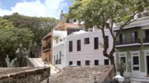Houses Along Caleta De Las Monjas, Near The City Walls
