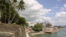 The City Walls Of Old San Juan