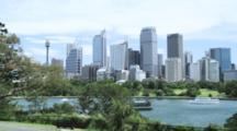 Skyline Of Sydney CBD