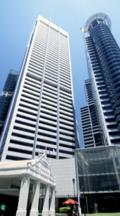 High Rise Buildings On Raffles Place