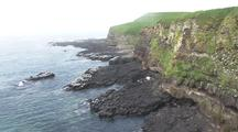 Bering Sea Bird Rookery Cliffs