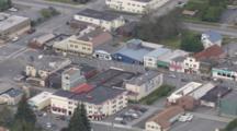 Cineflex aerials of Seward Alaska City