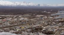 Zatzworks Cineflex Aerial Of Wasilla And Surrounding Mountains Alaska City