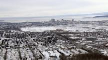 Zatzworks Winter Cineflex Aerial Of Anchorage Alaska