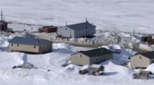 Zatzworks Cineflex Aerial Of Shaktoolik Village On Edge On Bering Sea In Western Alaska