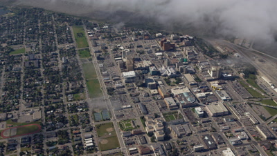 Aerial Above City of Anchorage,Alaska