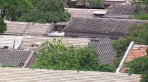 Beijing China Pull From Old Housing To View Of New City