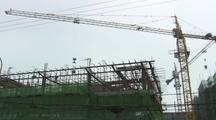 China Chinese Cement Bucket Hanging On Cable Constuction Boom Asia Growth Contruction Materials Resouces