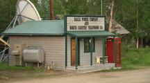 Interior Alaska Buildings Eagle Alaska Phone And Power Building Small Town