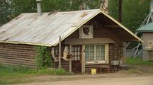 Interior Alaska Buildings Log Cabin Store