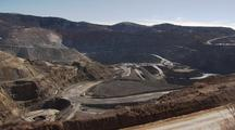 Open Pit Copper Mine Natural Resouce Extraction Metals Mountaintop Removal Mining Mtr