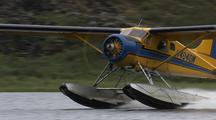 Alaska Bush Plane Taking Off From Lake, Alaska Flying, Floatplane