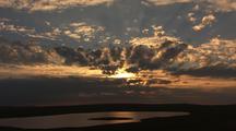 Arctic Sun And Cloud Timelapse