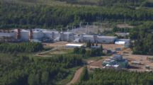 Cineflex Aerial Tight On Alaska Coal Fired Power Plant