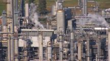 Cineflex Aerial Tight On Oil Production Facilities Cook Inlet Alaska